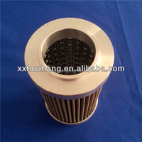Stainless steel hydraulic cartridge oil filter element/best rated oil filters cartridge