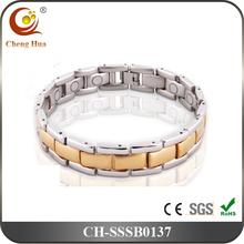 New 3000 Gauss Neodymium Magnetic Stainless Steel Bracelet