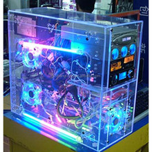 2015 new fashion customized acrylic computer case