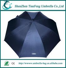 30 inch 8 ribs high quality Chinese fancy design fashion advertising straight golf umbrella