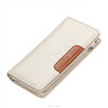 brand best seller dignity white fold zipper ladies wallet and purse