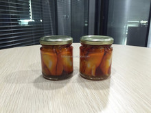 High Quality Seafood Bottled Mandarin Baby Squid Fish in Oil