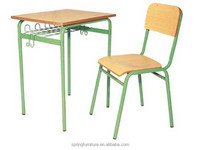 CT-320 single classroom desk and chair standard classroom desk and chair reading desk and chair