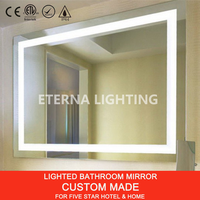 UL cUL Custom Five Star Hotel LED Lighted Vanity Mirror