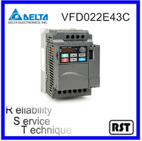 VFD022E43C 3.0HP 2.2kW 460V Original Taiwan Delta Speed Control AC Motor Variable Frequency Drive Inverter