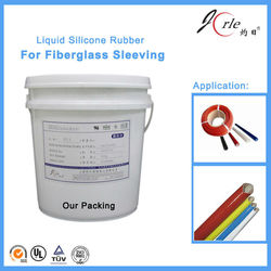 liquid silicone for fiber glass sleeves of LSR