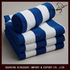 Luxurious and elegant Blue and white stripe 100% cotton face towel