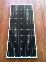 Monocrystalline solar panel 150W, price per watt solar panel, solar production line on ALIBABA