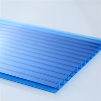 Bayer Polycarbonate Hollow Sheet twin/triple layer PC R/H/X structure sheets for 10years guarantee