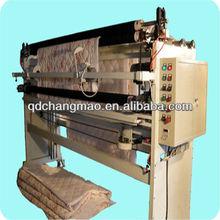 chinês tela não tecida máquina de corte com vertical e cortador circular