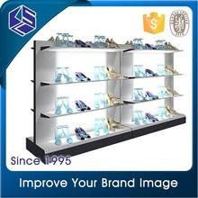 Gondola customized Adidas modern design high quality wholesale acrylic shoe display stand