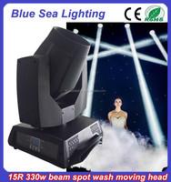 Cheap price moving head stage light sharpy 330w 15r beam light