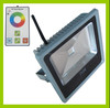 IP65 High Brightness Meanwell Driver Bridgelux 70W rgb led floodlight