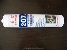 silicone flange sealant, Yichang 207, white/clear, metal flange glue