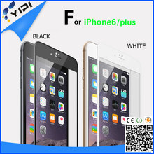 Colorful Frame 3D /2.5D Tempered Glass Screen Protector for iPhone6s/iPhone6s Plus.