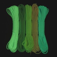 hot new products for 2015 luminous survival paracord 550