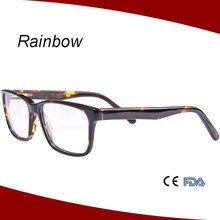 2015 Fashion unisex vintage acetate glasses optical frames for man