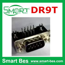 Smart Bes DR9 male DR9 needle type serial port DR9T clubfoot pin type short 9 core and 90 degree DIP DB9