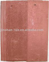 Rosy Clouds Red cment concrete roof tiles 420*330mm