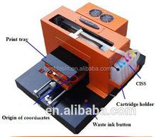 A3 UV small digital phone case printing machine, mobile phone case printer, cell phone case printer