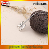 Hot Selling Lord Of The Rings Hobbit Gold Clap Ax Alloy Pendant necklace Jewelry