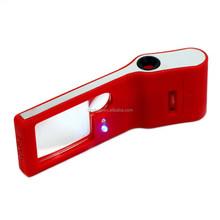 Dihao Mini Jewelers lupa / Jewelers lupa / microscopio con LED y luces UV