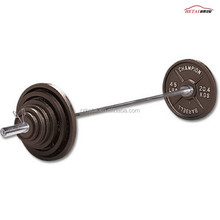 Olympic iron competition weight lifting barbell for gym