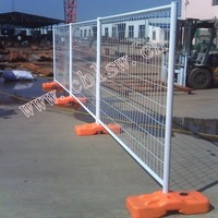 Galvanized temporary fencing for swimming pool