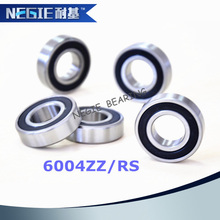 China supplier Cixi Negie factory made high precision performance 6004 motorcycle bearings