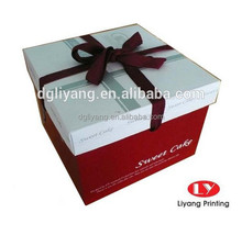 wholesale fancy birthday Paper cake packaging Box