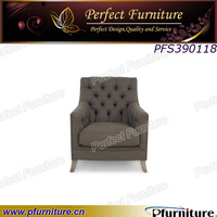 Solid wood frame durable colorfast fabric malaysia sex luxury sofa chair.