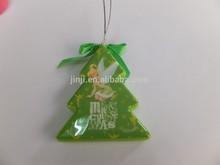 2015 nuovo design per decorazione plastica a forma di ornamento