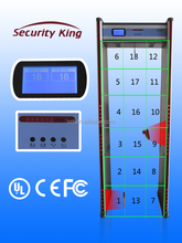2015 HOT SALE :Walk through metal detector with LCD screen (XST-LCD)