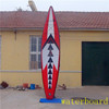 inflatable sup blue longboard surfboard made in China