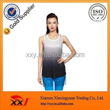 New design cool summer color combinations sexy sleeveless tops for ladies cheap wholesale