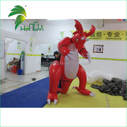 Hongyi Toy Latest Inflatable Red Dragon Cute Inflatable Giant Dragon