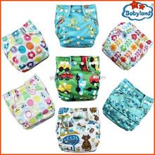 2015 Best Seller Baby Printed Nappy Waterproof PUL Reusable Cloth Baby Nappy