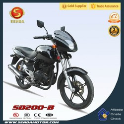 Hot Sale in Middle East & Africa 200cc Street Legal Motorcycle SD200-B
