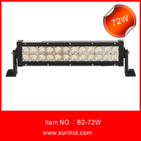 B2-72W straight led bar with well designed waterproof