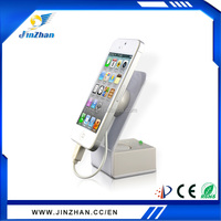 Fashion designs metal acrylic display book holder,mobile anti-theft security phone display holder, security display holder