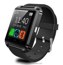 Android hebrew language u8 smart watch bluetooth 4.0 U8