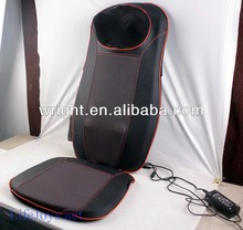 2013 factory heat shiatsu back massager cushion equipment