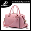 Fashion elegence china shoulde bags pink color bucket bag women dubai handbags