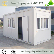 Wide Applications Prefabricated 40Ft Converted Sea Container House With Bathroom