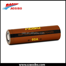 Aosibo 18650 1x18650 lithium rechargeable battery aosibo imr 18650 2600mah power typre battery
