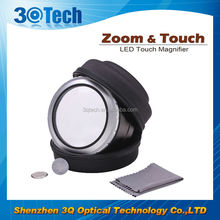 DH-86001 gift and utility items hands free lighted magnifier zoom&touch