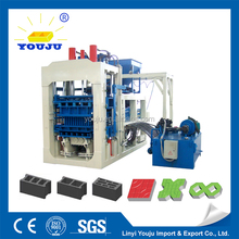 for lower price hydraulic cheap colorful concrete block making machine