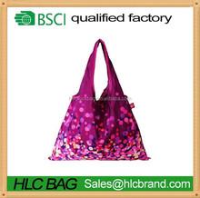 Lattest Collection Reusable Crease-resist Shopping Tote Purple Bag HL-PB178
