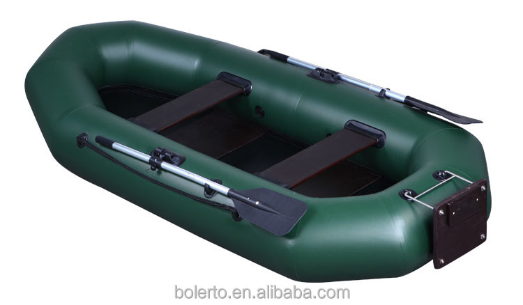 Inflatable pontoon fishing boats with pvc material for Inflatable fishing boats for sale
