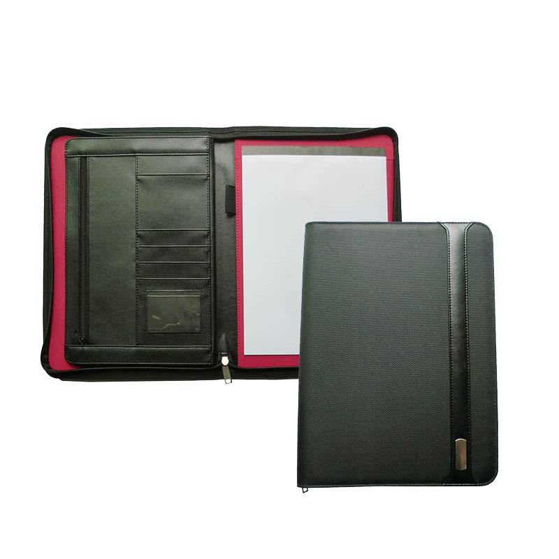 مصمم padfolio a4 مجلد الجلود محفظة مجلد العرض